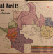 Map of Cleveland Ward 12 for Cleveland City Council with title in the upper left corner and each precinct of the ward highlighted in a rainbow of colors.